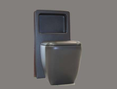Floor Standing WC with Exposed Cistern